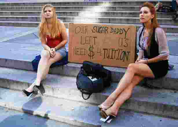 College girls need money